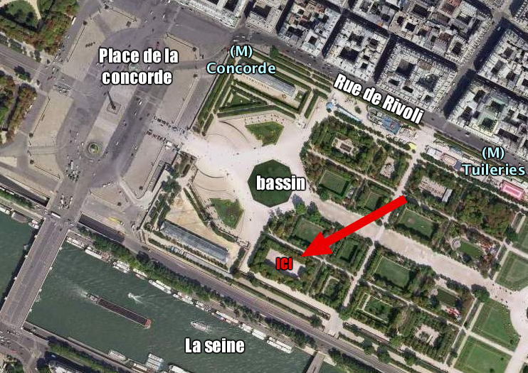 Lovely Image from http google earth fan free fr reperes jardin des tuileries Parks Pinterest